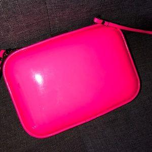 Zara Small crossbody purse Neon pink